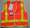 A veste reflexiva 16 da segurança elevada barata nova da qualidade do tráfego da forma