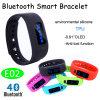 Braccialetto astuto di vendita caldo di Bluetooth con il pedometro (E02)