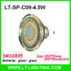 SMD2835 4.5W LED Cup, Glass Material (LT-SP-C09-4.5)