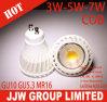 7W LED COB GU10/MR16 Lamp COB LED Bulb