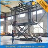 Portable Hydraulic Scissor Car Lift Lift Estacionamento com Ce