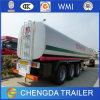 Fábrica que vende el acoplado del tanque del Tri-Árbol 50000L para el transporte del combustible
