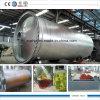 Tipo 10 toneladas de residuos de aceite de máquina de reciclaje de rotación