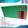 Bandeira 100% da Zâmbia do poliéster 90X180cm (B-NF05F09015)