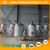 Chaleira de dois andares do aço inoxidável para a fabricação de cerveja de cerveja