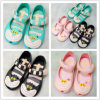 Размер смешивания цвета смешивания 2016 дешевый цветастый ботинок студня сандалии PVC малышей радушен
