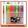 12 PCS Gel Ink Pen Set dans Plastic Box