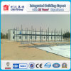 Casa pré-fabricada da acomodação do campo de trabalho do telhado da inclinação