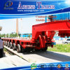 300 tonnes remorque modulaire hydraulique de direction et de levage, semi-remorque