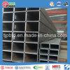 Sección hueca Tubo cuadrado de acero galvanizado rectangular
