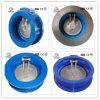 Clapet anti-retour DIN Pn16 de plaque duelle de disque