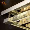 Große Kristallleuchter-Lampe Witjh der Technik-LED passte an