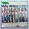 Colorized der oralen Sorgfalt-Erwachsenen Zahnbürste mit Gleitschutzgriff