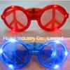LED leuchten Friedenszeichen-Sonnenbrillen