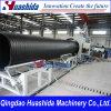 Linha de produção de tubulação de enrolamento de parede oca HDPE