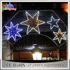 Lumière montée par Pôle de rue fantastique de décoration de Noël 2D