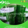 Le PVC transparent a tressé le boyau de jardin renforcé par /PVC de boyau d'irrigation de PVC de boyau