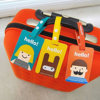 Tag plástico da bagagem/Tag de viagem/Tag para o saco do LV
