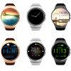 2016 Androïde Ios van de Hoge Macht Slim Horloge, het Capacitieve Slimme Horloge van Kingwear van het Scherm Ogs Kw18
