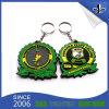 PVC suave Keychain del regalo de boda de Customzied de la buena calidad