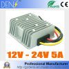 120W 9-16V ao conversor de 24V DC/DC impulsionam a C.C. do conversor de potência 12V-24V 5A intensificam o regulador de tensão
