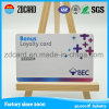 Cartão de sociedade da lealdade do PVC com codificação do código de barras e da listra magnética