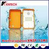IP66 sistema industrial impermeable de la llamada de emergencia del teléfono del teléfono Knsp-13