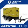 генератор 200kw/250kVA Чумминс Енгине тепловозный с двойным трейлером Axles
