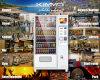 Distributore automatico dei punti di cura di pelle con lo schermo della pubblicità