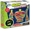 子供DIYカラー砂部屋の装飾おもちゃ浜の側面の芸術の白熱夜