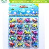 Solo de cristal colorido com os brinquedos Growing da água Growing dos animais