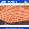 Azulejo de material para techos clásico revestido del metal de hoja de la piedra económica
