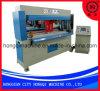 Machine de découpage de poinçon appuyante hydraulique de semelle intérieure