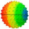 Sfera Knobby del PVC del Rainbow della sfera variopinta di massaggio