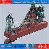 Draga profissional da mineração do ouro da cubeta Chain de China