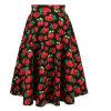 O OEM presta serviços de manutenção à saia da impressão da flor do plissado do guarda-chuva mais o tamanho com os bolsos