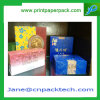 Zoll gedruckter Vierecks-Tee-Kasten-u. Beutel-Papiergeschenk-Kasten