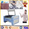 СО2 резца лазера CNC Jinan Reci 80W режа машину ткани/ткани
