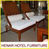 Cadeira de vime do sofá da sala de estar da mobília do Rattan para o recurso do restaurante