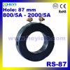 Fabrikant rs-87 Huidige Transformator 87mm van de huidige Transformator van de Bescherming BinnenAC van het Gat Huidige Sensor