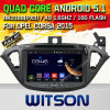 Carro DVD do Android 5.1 de Witson para Opel Corsa 2015 2015 (W2-A7075) com sustentação do Internet DVR da ROM WiFi 3G do chipset 1080P 8g