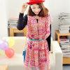 Mei roter Frauen-Voile-Schal für vier Jahreszeiten