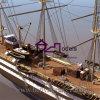 Масштабная модель рыбацкой лодки, делать модели сосуда (BM-0106)