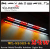 Rotes White Amber LED Arrow Stick Warning Directional Light für Police