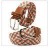 Homens Pin Buckle poliéster Braid Belt (HJ0198)