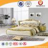 Просто самомоднейшая кровать кожи мебели спальни типа (UL-FT618A)