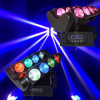 8 Eye 10W Spider RGBW LED Moving Head Beam Light