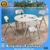Sillas de plegamiento plásticas blancas de la venta caliente para la boda, silla de plegamiento usada plástico al aire libre barato del metal para la venta