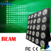 25 * 10W LED blanco cálido Disco Matrix Light