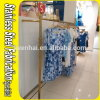 Cremalheira feito-à-medida do gancho de roupa do carrinho do aço inoxidável de Keenhai